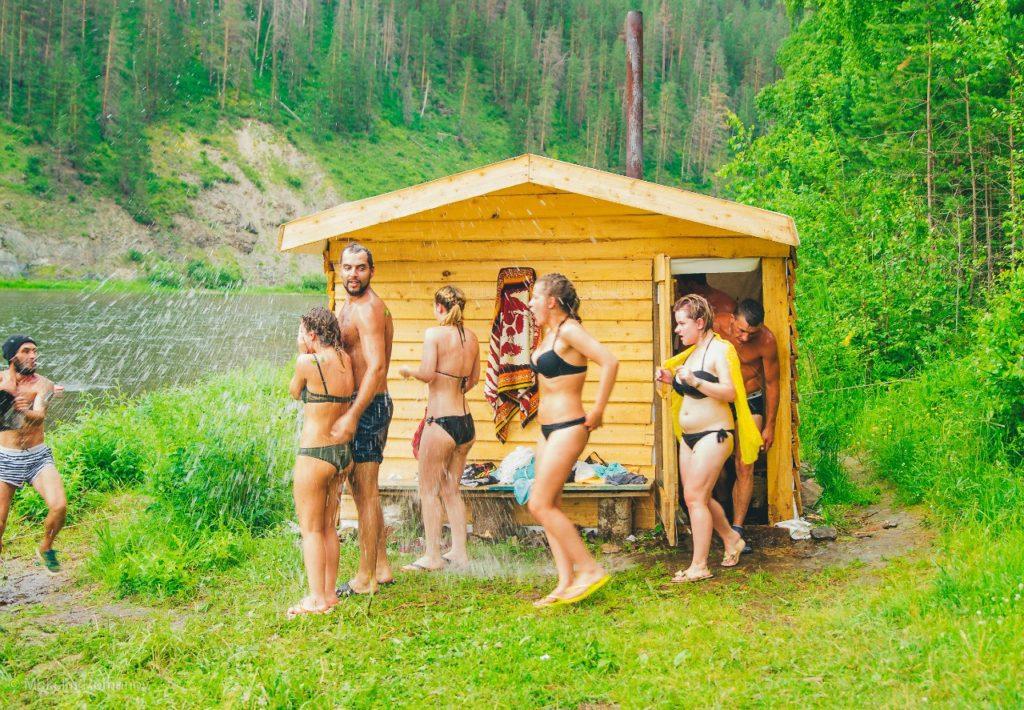 """Жаркая """"Манская"""" баня!"""